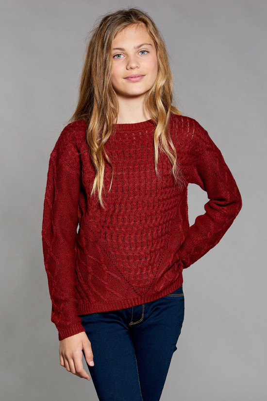 Sweater Sweater STORY Girl W18306G (41335) - DEELUXE-SHOP
