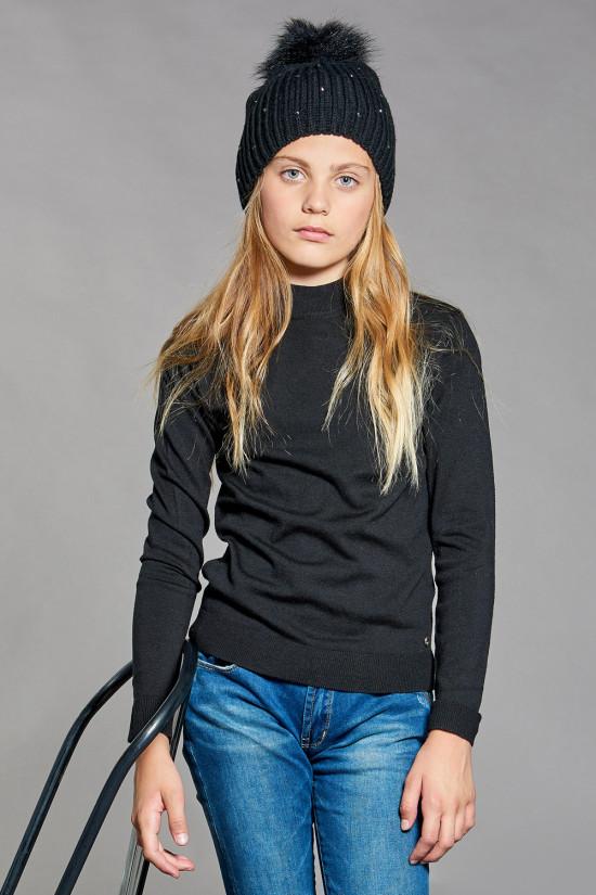 Sweater BASIC Girl W18313G (41336) - DEELUXE-SHOP