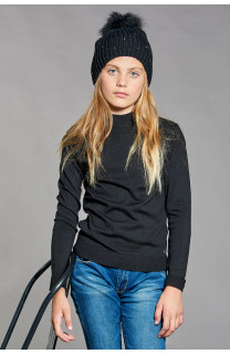 Sweater Sweater BASIC Girl W18313G (41336) - DEELUXE-SHOP