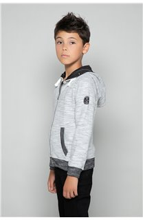 Sweatshirt Sweatshirt NEWSTEP Boy W18552B (41345) - DEELUXE-SHOP