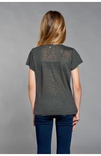 T-shirt T-SHIRT GLITTER Girl W18113G (41361) - DEELUXE-SHOP
