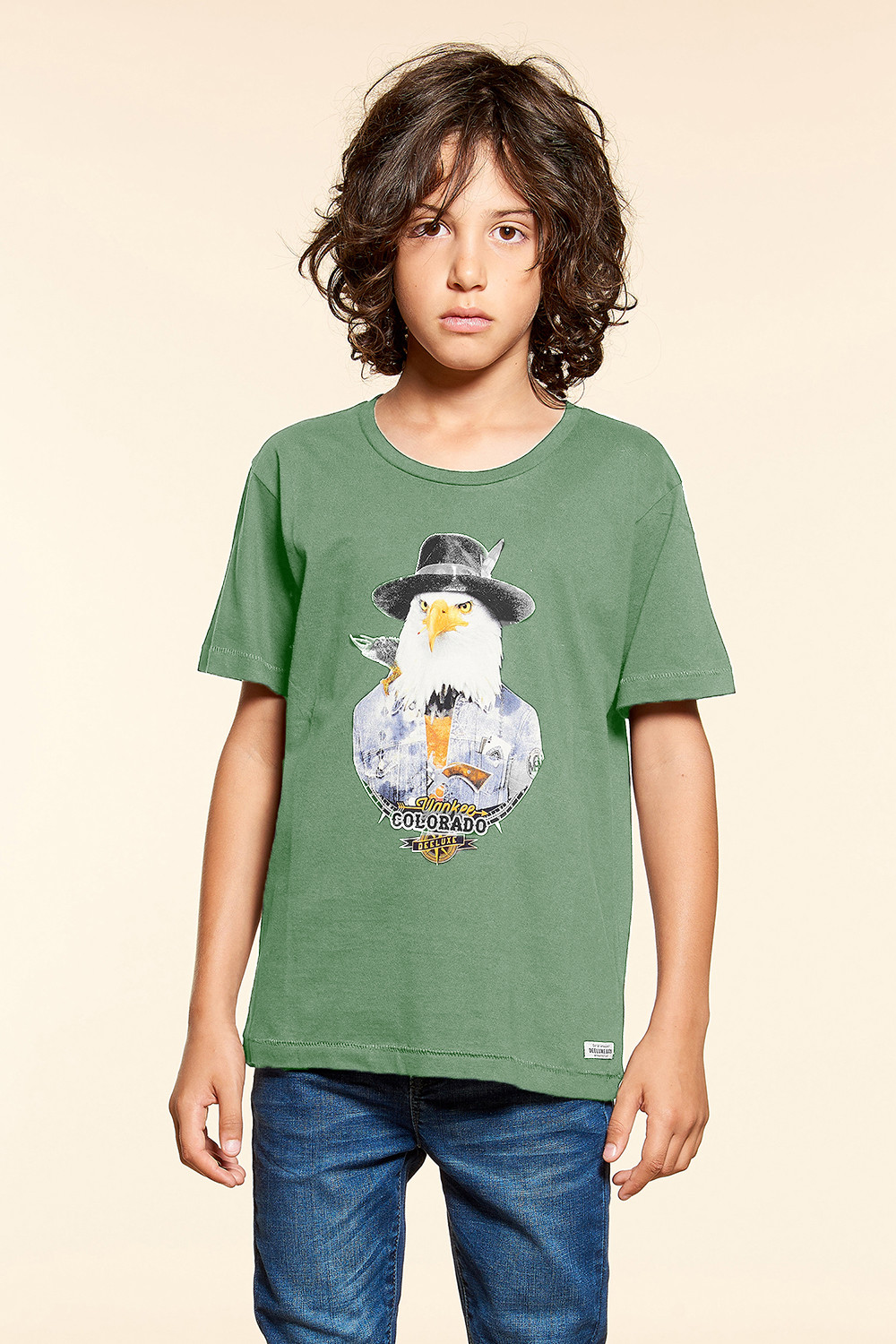 T-shirt EAGLE Boy W18140B (41370) - DEELUXE-SHOP