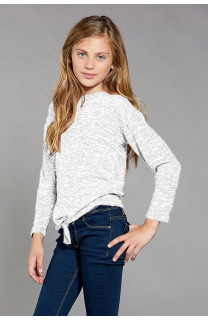 Pull CHARLY Fille W18315G (41386) - DEELUXE