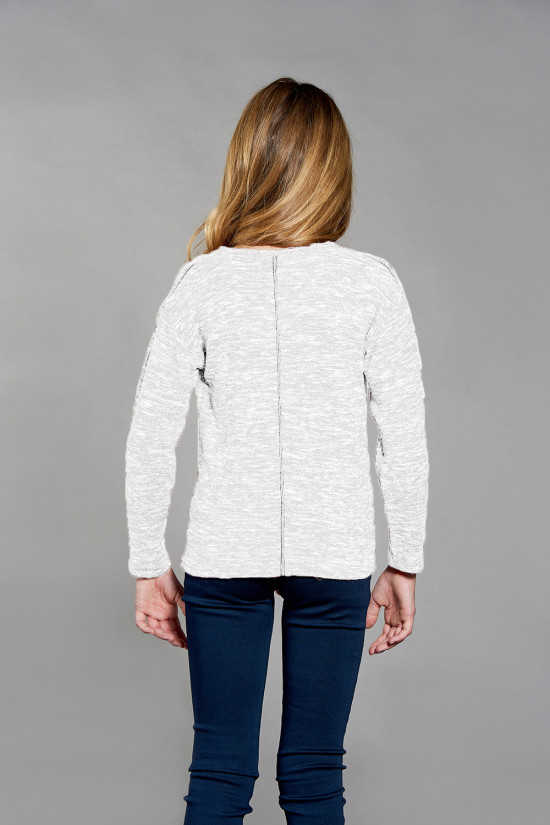 Pull CHARLY Fille W18315G (41334) - DEELUXE