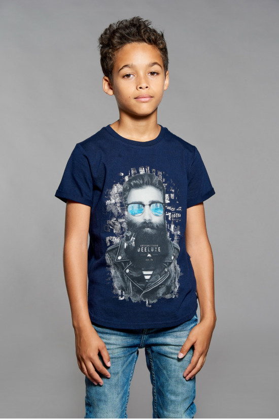 T-shirt T-shirt CLYDE Boy W18132B (41392) - DEELUXE-SHOP