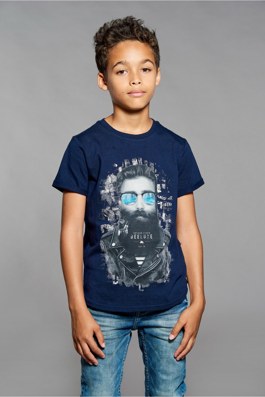 T-shirt T-shirt CLYDE Boy W18132B (41392) - DEELUXE-SHOP