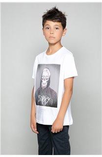 T-shirt T-shirt JUST Boy W18143B (41395) - DEELUXE-SHOP