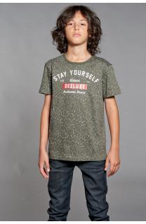 T-shirt T-shirt POLLOCK Boy W18167B (41396) - DEELUXE-SHOP