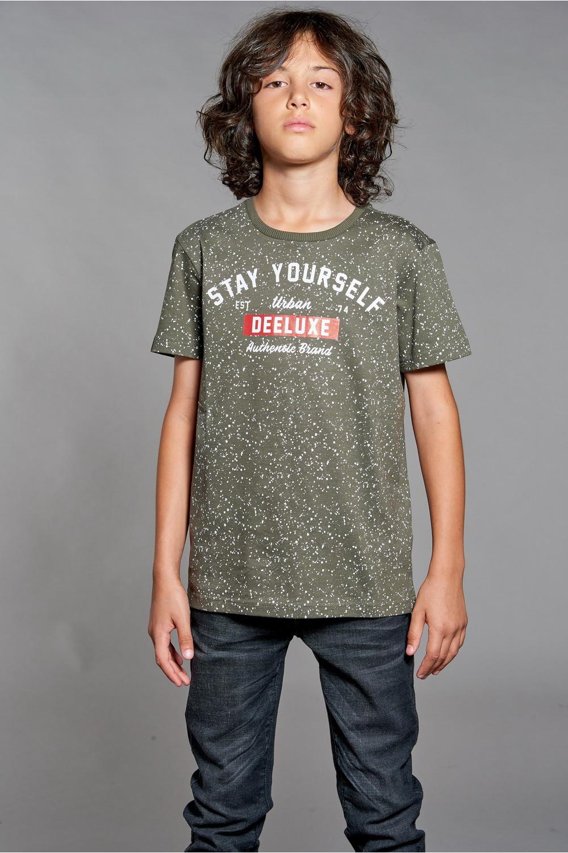 T-Shirt POLLOCK Garçon W18167B (41396) - DEELUXE