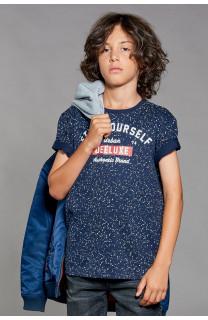 T-shirt T-shirt POLLOCK Boy W18167B (41413) - DEELUXE-SHOP
