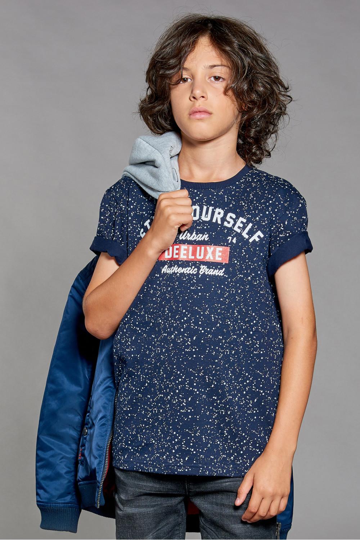 T-Shirt POLLOCK Garçon W18167B (41413) - DEELUXE