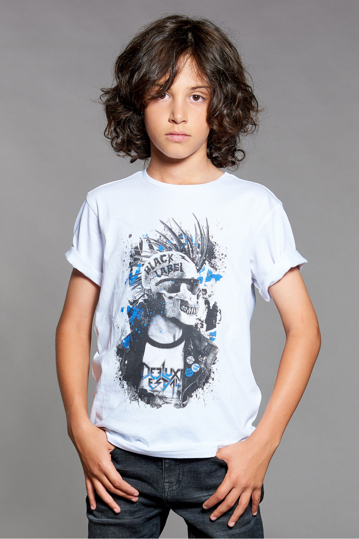 T-shirt T-shirt ENFIELD Boy W18188B (41417) - DEELUXE-SHOP