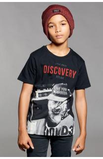 T-shirt T-shirt DISCOVERY Boy W18192B (41418) - DEELUXE-SHOP