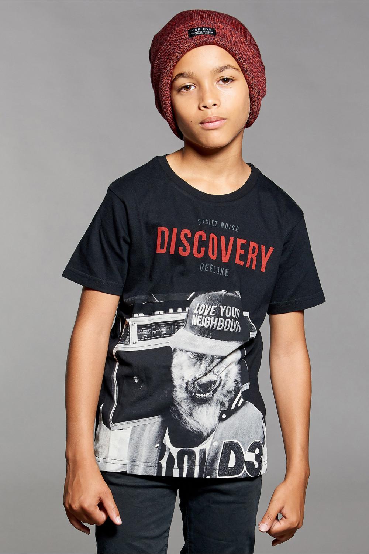 T-Shirt DISCOVERY Garçon W18192B (41418) - DEELUXE