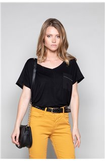 T-shirt AMY Woman W18101W (41428) - DEELUXE-SHOP