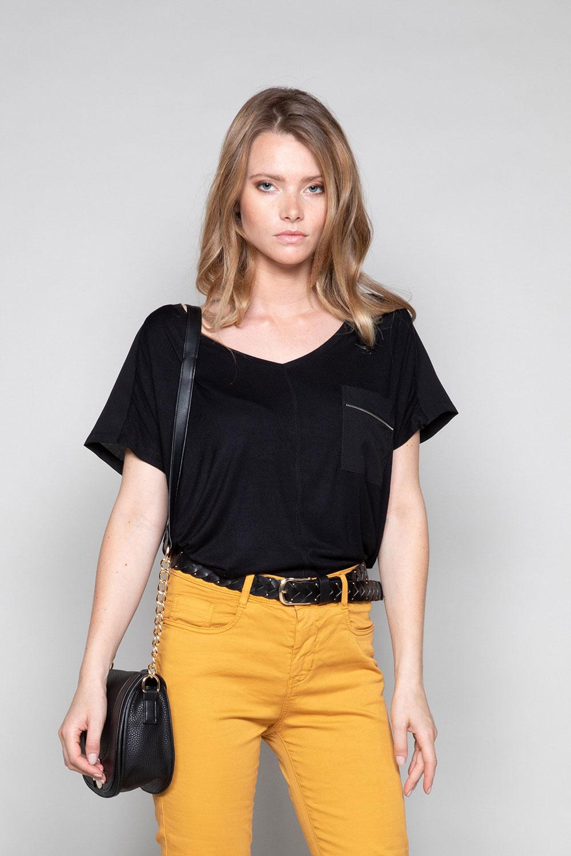 T-Shirt AMY Femme W18101W (41428) - DEELUXE