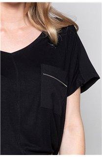 T-Shirt AMY Femme W18101W (41430) - DEELUXE