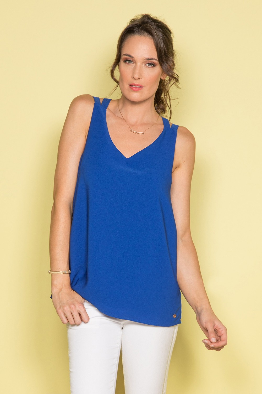 Tank Top Tank Top CANDICE Woman S19164W (41539) - DEELUXE-SHOP