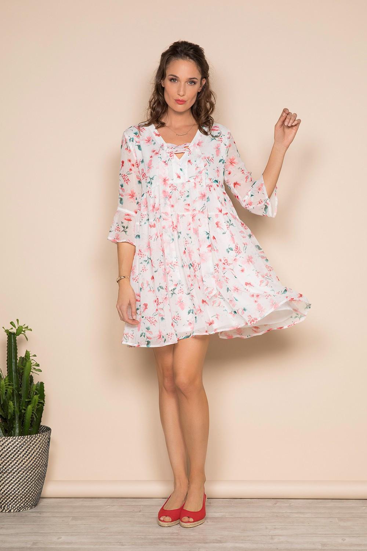 Dress Dress AMELIA Woman S19205W (41573) - DEELUXE-SHOP