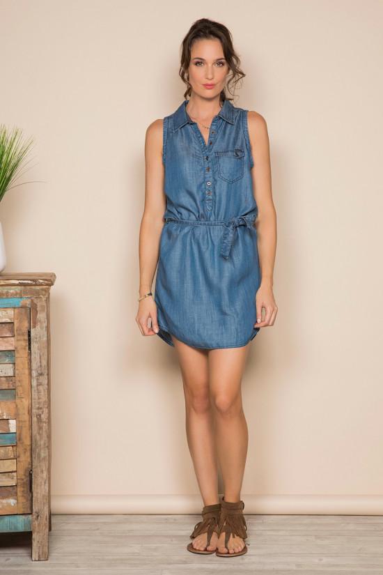 Robe MAYBE Femme S19231W (41594) - DEELUXE
