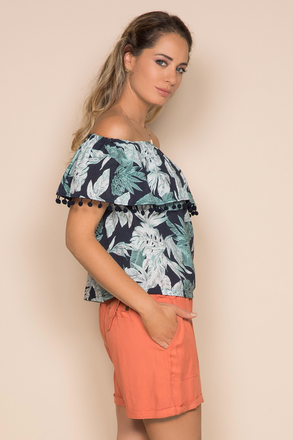Blouse Blouse IDA Woman S19425W (41603) - DEELUXE-SHOP