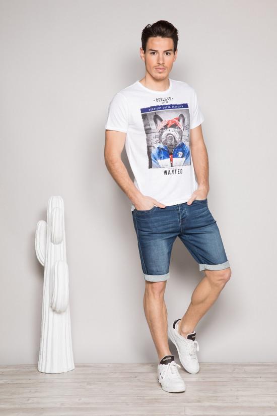 T-shirt T-SHIRT BANDIDO Man S19190 (41723) - DEELUXE-SHOP
