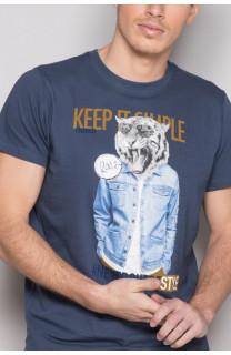 T-shirt T-shirt ROCKY Man S19162 (41744) - DEELUXE-SHOP