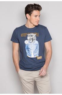 T-shirt T-shirt ROCKY Man S19162 (41746) - DEELUXE-SHOP