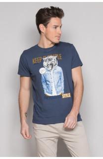 T-shirt T-shirt ROCKY Man S19162 (41748) - DEELUXE-SHOP
