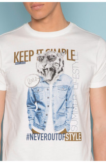 T-shirt T-shirt ROCKY Man S19162 (41750) - DEELUXE-SHOP