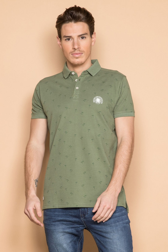 Polo shirt Polo shirt WATER Man S19204 (41812) - DEELUXE-SHOP