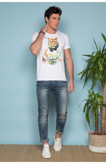T-shirt TIGROU Man S19144 (41836) - DEELUXE-SHOP