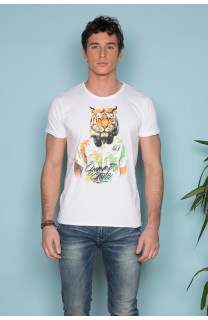 T-shirt TIGROU Man S19144 (41837) - DEELUXE-SHOP