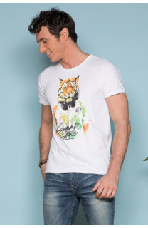 T-shirt TIGROU Man S19144 (41838) - DEELUXE-SHOP