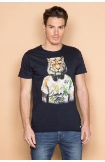 T-shirt TIGROU Man S19144 (41841) - DEELUXE-SHOP