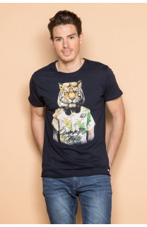 T-shirt TIGROU Man S19144 (41843) - DEELUXE-SHOP