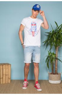 T-shirt T-shirt TELLON Man S19143 (41867) - DEELUXE-SHOP