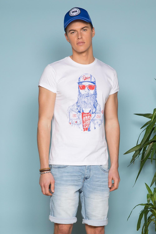 T-shirt T-shirt TELLON Man S19143 (41869) - DEELUXE-SHOP