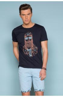 T-shirt T-shirt TELLON Man S19143 (41872) - DEELUXE-SHOP