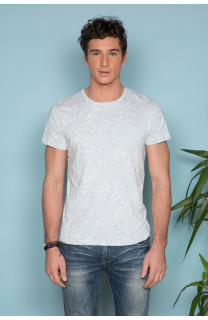 T-Shirt MONSTERA Homme S19135 (41979) - DEELUXE