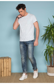 T-Shirt MONSTERA Homme S19135 (41980) - DEELUXE