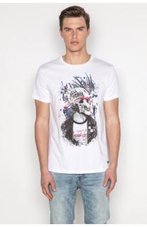 T-shirt T-shirt ENFIELDON Man S19188 (42187) - DEELUXE-SHOP