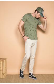 T-shirt T-shirt COYOTE Man S19105 (42374) - DEELUXE-SHOP