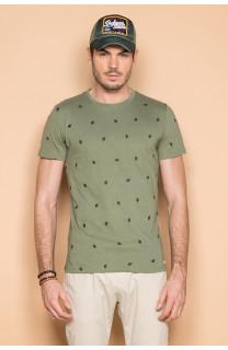 T-shirt T-shirt COYOTE Man S19105 (42375) - DEELUXE-SHOP