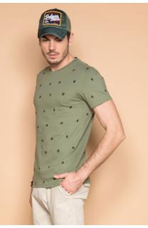 T-shirt T-shirt COYOTE Man S19105 (42376) - DEELUXE-SHOP