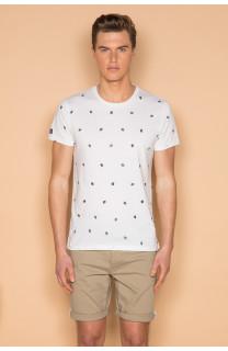 T-shirt T-shirt COYOTE Man S19105 (42378) - DEELUXE-SHOP