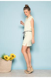 Dress Dress TIME Woman S19212W (42393) - DEELUXE-SHOP