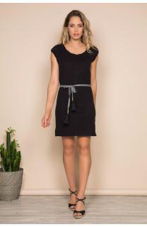 Dress Dress TIME Woman S19212W (42397) - DEELUXE-SHOP