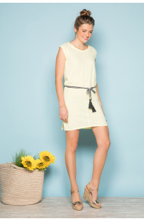 Dress Dress TIME Woman S19212W (42401) - DEELUXE-SHOP