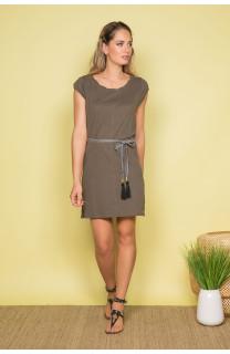 Dress Dress TIME Woman S19212W (42402) - DEELUXE-SHOP
